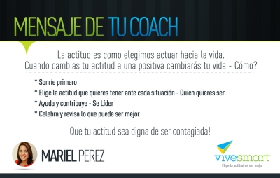 Mensaje del coach