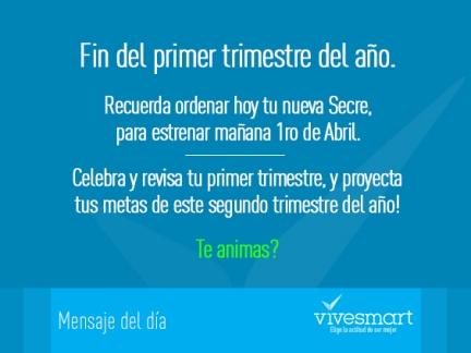 Mensaje Vive Smart 2